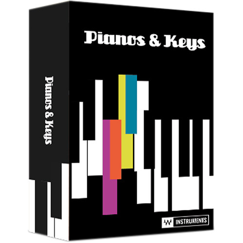 Waves Pianos & Keys Virtual Instrument Plug-In Bundle (Download)