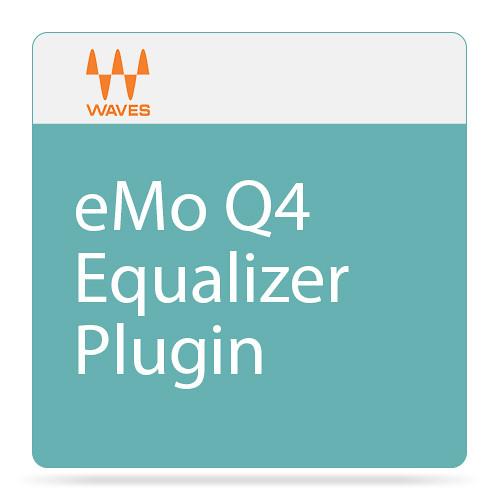 Waves eMo Q4 - 4-Band Paragraphic Equalizer Plug-In (Native/SoundGrid, Download)