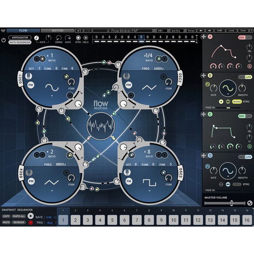 Waves Flow Motion FM Synth (Native, Download)
