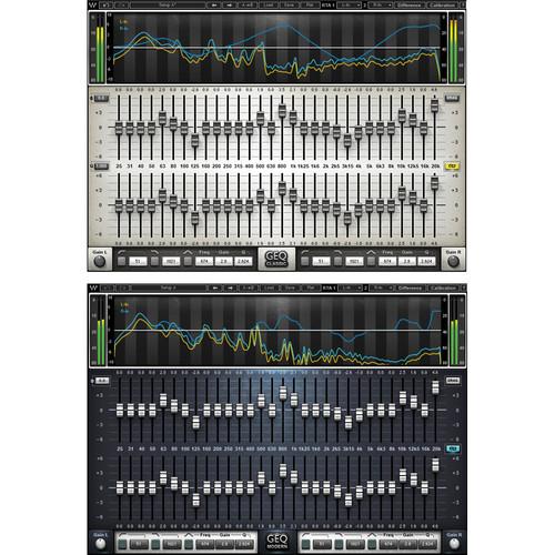 Waves GEQ Graphic Equalizer - EQ Plug-In (Native/SoundGrid, Download)