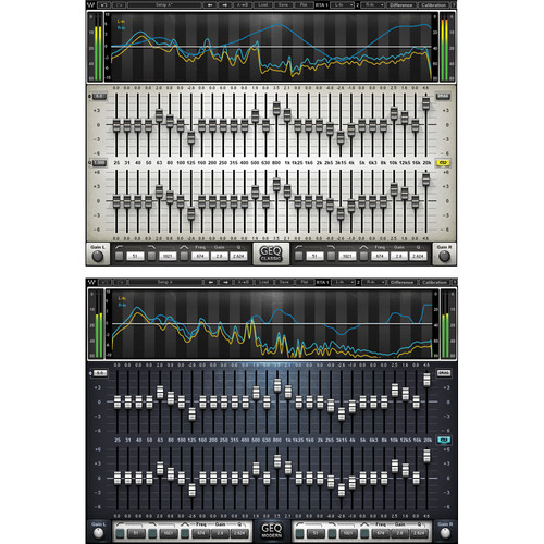 Waves GEQ Graphic Equalizer - EQ Plug-In (Native/SoundGrid, Download)