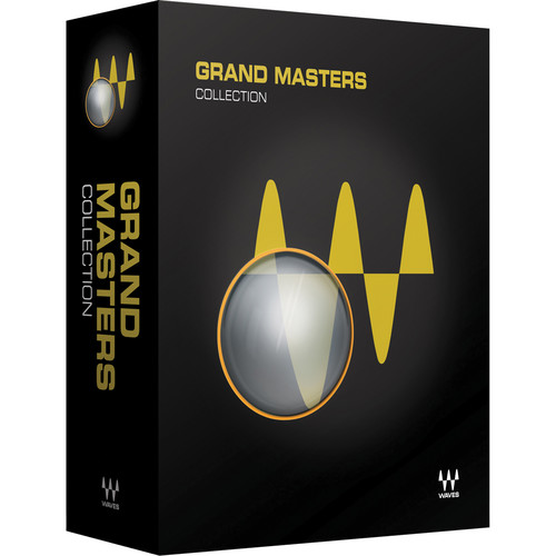 Waves Grand Masters Collection - Precision Mastering Processors Bundle (TDM/Native/SoundGrid, Download)