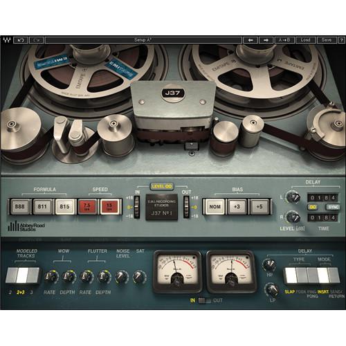 Waves J37 Tape - Tape Saturation Plug-In (Native/SoundGrid, Download)