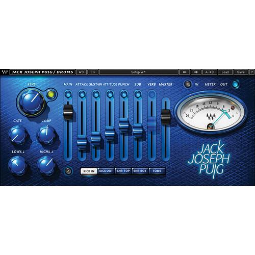 Waves JJP Drums - Drum Processing Plug-In (Native/SoundGrid, Download)