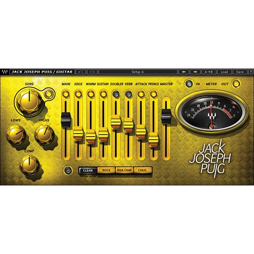 Waves JJP Guitars - Guitar Processing Plug-In (Native/SoundGrid, Download)