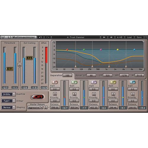 Waves L3 Multimaximizer - Multi-Band Limiter Plug-In (Native/SoundGrid, Download)