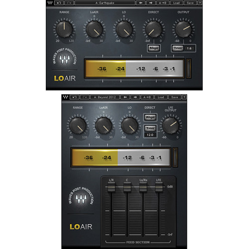 Waves LoAir - Subharmonic Synthesizer Plug-In (Native/SoundGrid, Download)