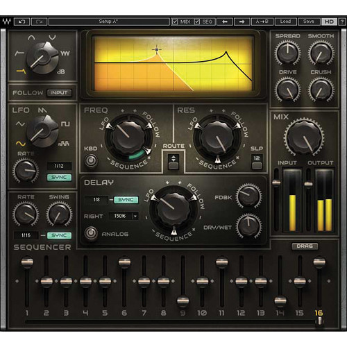 Waves MetaFilter - Multimode Filter Plug-In (Native, Download)