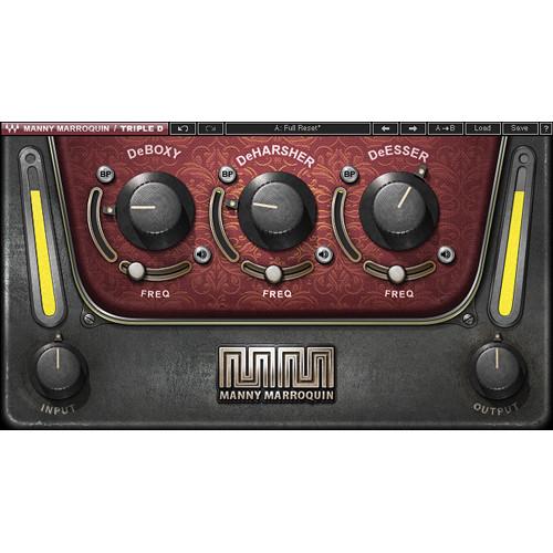 Waves Manny Marroquin Triple D - Vocal Cleanup Plug-In (Native/SoundGrid, Download)