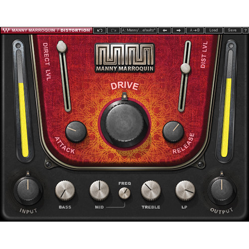 Waves Manny Marroquin Distortion - Distortion Plug-In (Native/SoundGrid, Download)