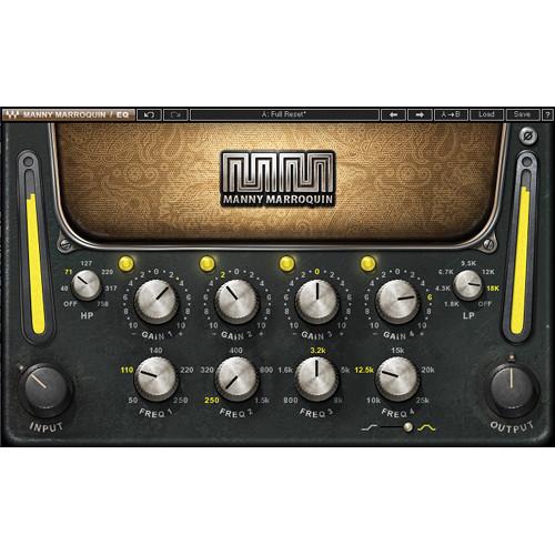 Waves Manny Marroquin EQ - EQ Plug-In (Native/SoundGrid, Download)