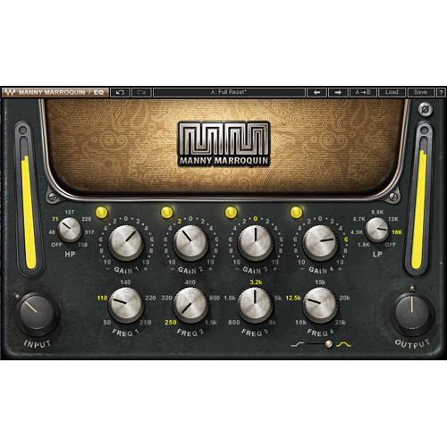 Waves Manny Marroquin EQ - EQ Plug-In (Native/SoundGrid, Download)