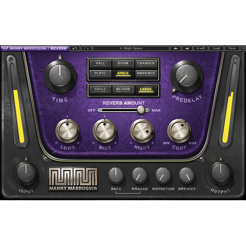 Waves Manny Marroquin Reverb - Reverb Plug-In (Native/SoundGrid, Download)