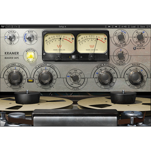 Waves Kramer Master Tape - Modeled Vintage Reel-to-Reel Machine Plug-In (Native)