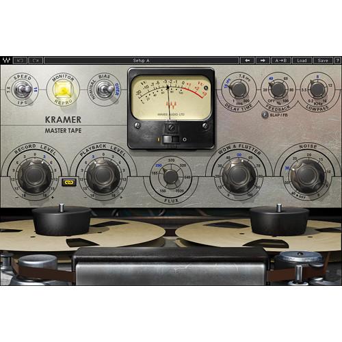 Waves Kramer Master Tape - Tape Saturation Plug-In (Native/SoundGrid, Download)