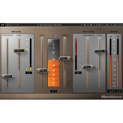 Waves MaxxVolume - Dynamics Plug-In (Native/SoundGrid, Download)