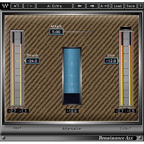 Waves Renaissance Axx - Dynamics Plug-In (Native/SoundGrid, Download)