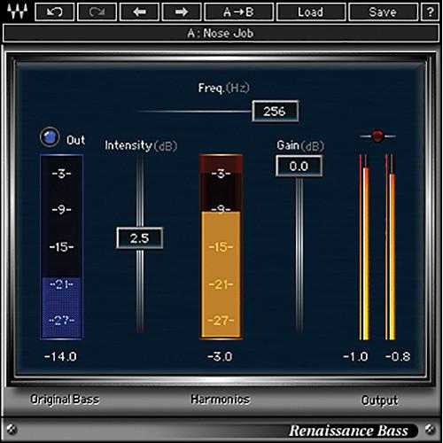 Waves Renaissance Bass - Bass Enhancement Plug-In (Native/SoundGrid, Download)