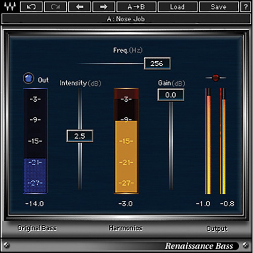 Waves Renaissance Bass - Bass Enhancement Plug-In (Native/SoundGrid, Download)