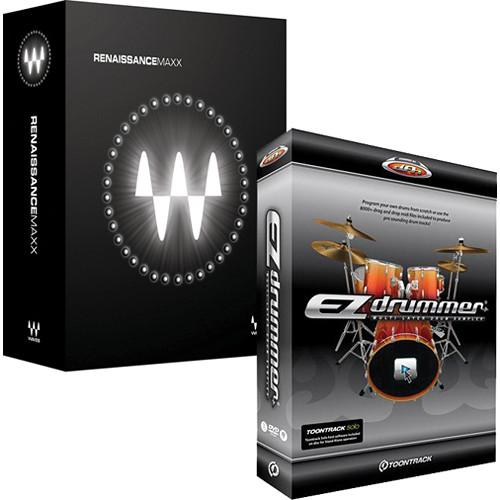 Waves Renaissance Maxx Bundle and EZdrummer Drum Software