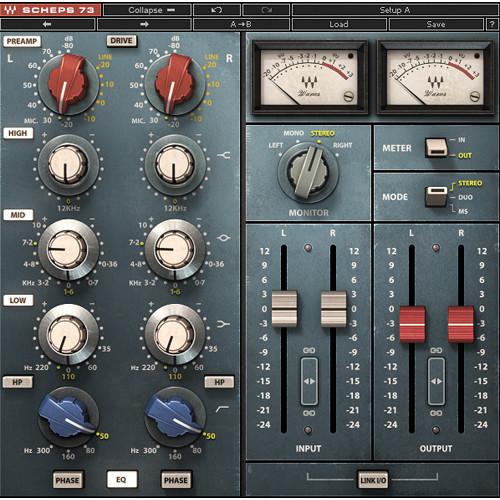 Waves Scheps 73 - Console EQ Plug-In (Native/SoundGrid, Download)