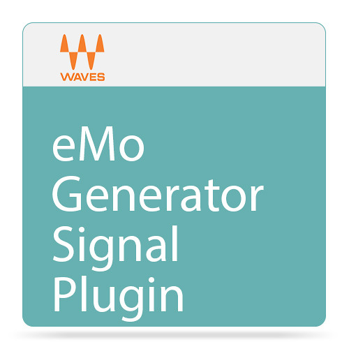 Waves eMo Generator - Signal Generator Plug-In (Native/SoundGrid, Download)