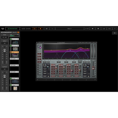 Waves SoundGrid Rack for VENUE - Rack Plug-In Software for VENUE | S6L Mixing Console (Download)