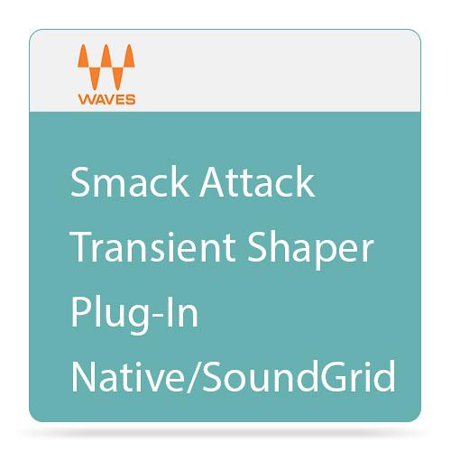 Waves Smack Attack - Transient Shaper Plug-In (Native/SoundGrid, Download)
