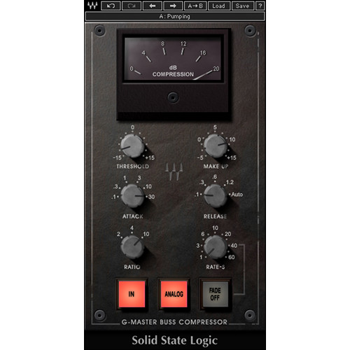 Waves SSL G-Master Buss Compressor - SSL 4000 G Series Compressor Plug-In (Download)