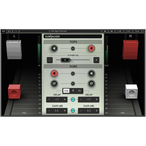 Waves Sub Align - Speaker Alignment Plug-In (Native/SoundGrid, Download)