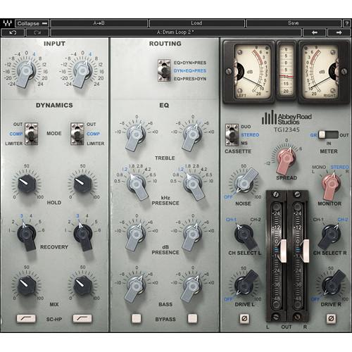 Waves EMI TG12345 Channel Strip - EQ and Dynamics Plug-In (Native/SoundGrid, Download)