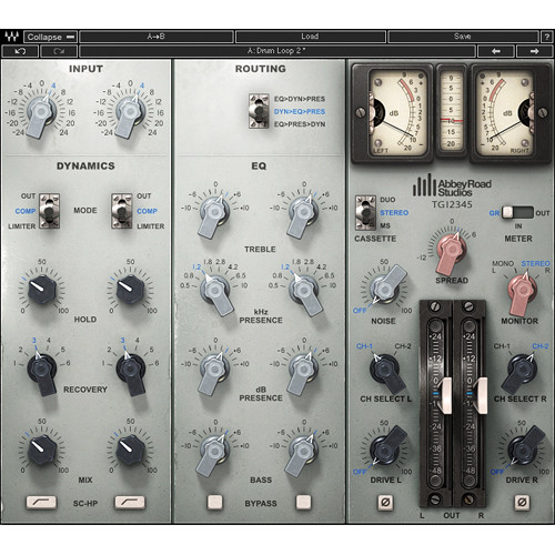 Waves EMI TG12345 Channel Strip - EQ and Dynamics Plug-In (Native/SoundGrid, Download)