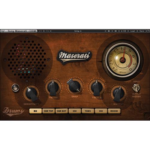 Waves Maserati DRM - Drum Slammer Plug-In (Native/SoundGrid, Download)