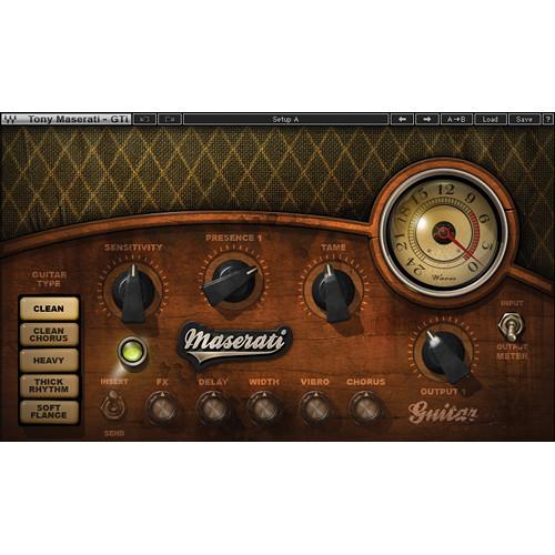 Waves Maserati GTi - Guitar Toner Plug-In (Native/SoundGrid, Download)
