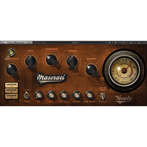 Waves Maserati VX1 - Vocal Enhancing Plug-In (Native/SoundGrid, Download)