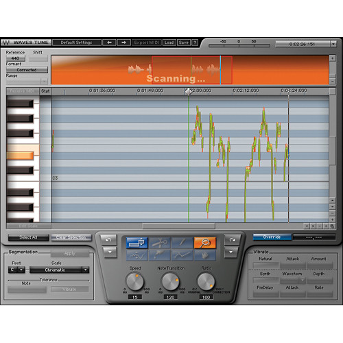 Waves Waves Tune LT - Pitch Transforming Plug-In (Native, Download)