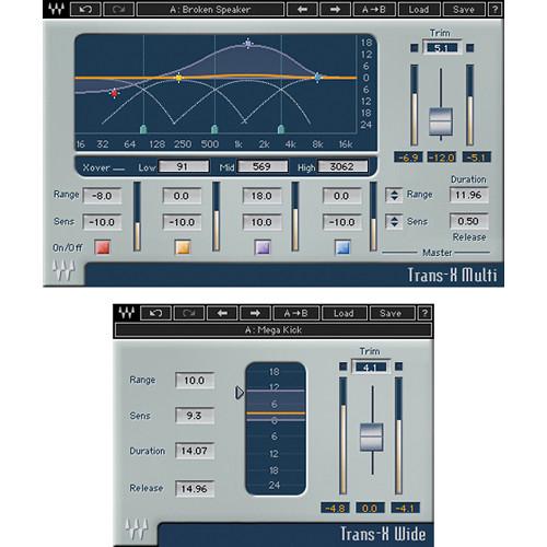 Waves Trans-X - Transient Modifying Plug-In (Native/SoundGrid, Download)