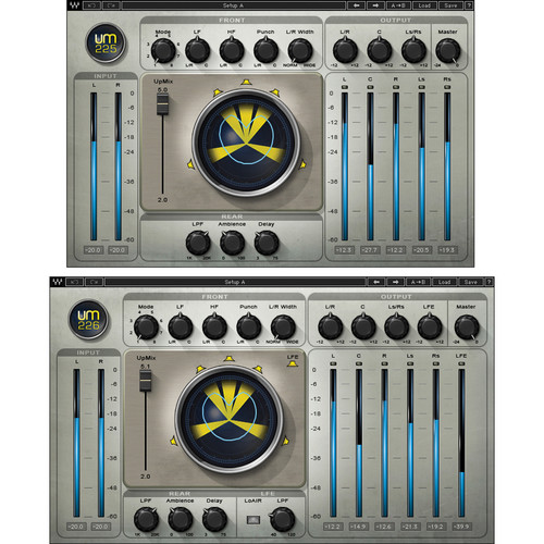 Waves UM225 / UM226 - Stereo-to-Surround Sound Processing Plug-In (Native, Download)
