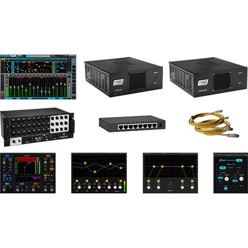 Waves Emotion LV1 + Server One-C / 24-Preamp Stagebox / Axis One