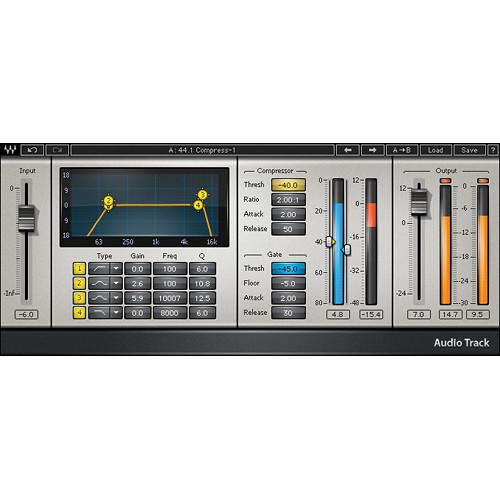 Waves AudioTrack - Multi-Processor Plug-In (Native/SoundGrid, Download)