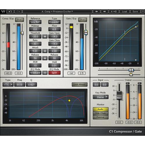 Waves C1 Compressor - Dynamics Plug-In (Native/SoundGrid, Download)