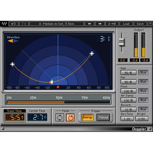 Waves Doppler - Doppler Effect Plug-In (Native/SoundGrid, Download)