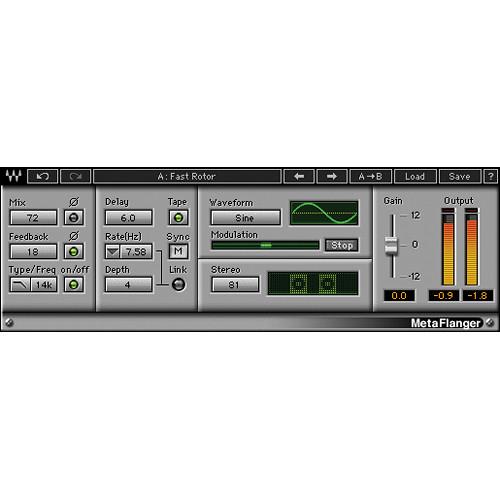 Waves MetaFlanger - Flanger Plug-In (Native/SoundGrid, Download)