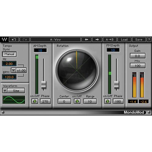 Waves MondoMod - Modulation Plug-In (Native/SoundGrid, Download)
