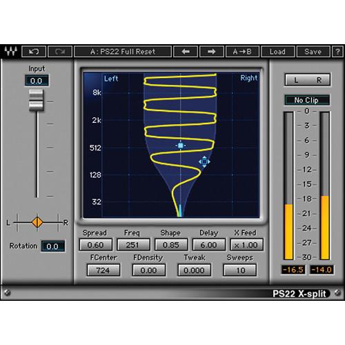 Waves PS22 Stereo Maker - Spatial Enhancement Plug-In (Native/SoundGrid, Download)