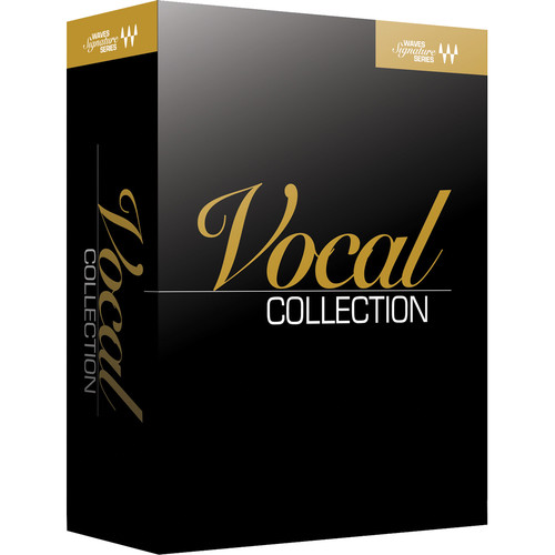 Waves Signature Series Vocals - Plug-In Bundle (Native/SoundGrid, Download)
