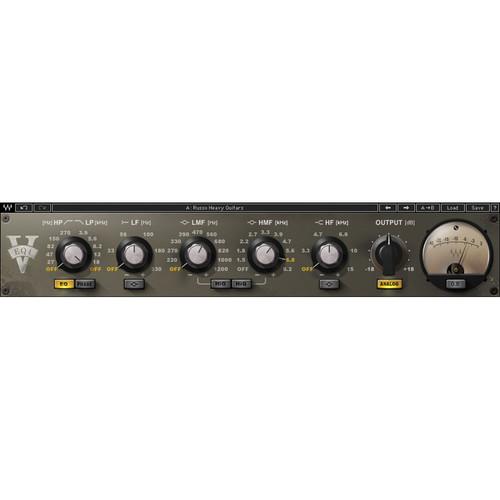 Waves V-EQ4 - Vintage Style EQ Plug-In (Native/SoundGrid, Download)