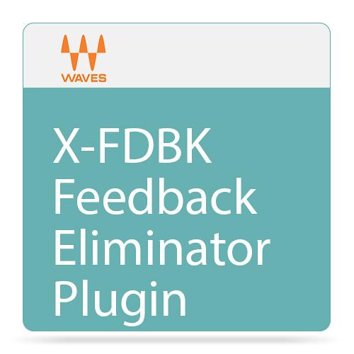 Waves X-FDBK - Feedback Eliminator Plug-In (Native/SoundGrid, Download)