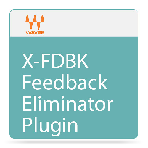 Waves X-FDBK - Feedback Eliminator Plug-In (Native/SoundGrid, Download)