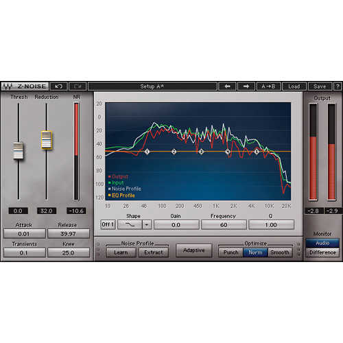 Waves Z-Noise - Noise Reduction Plug-In (Native/SoundGrid, Download)